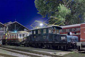 Súprava diaľkového vlaku Viedenskej električky na Rendezi