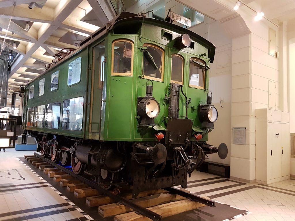 Lokomotive 1060.001 aus der Mittenwaldbahn